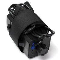 Durevole Custodia impermeabile per custodia per batteria per luce a LED per bici