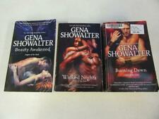 COMPLETE SET (3) GENA SHOWALTER Paranormal Books Novel ANGELS OF THE DARK SERIES
