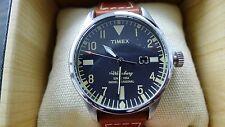TIMEX X RED WING WATERBURY 40MM WATCH Black  & Rust TW2P8400070