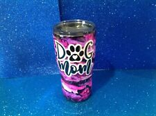 Double insulated Stainless tumbler Dog Mom 20 Oz W/lid SO