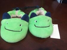Infant/Toddler Slippers, Friendly Monster, size 4, NWT