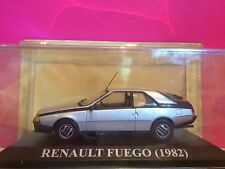 SUPERBE RENAULT FUEGO 1982 NEUF EN BOITE 1/43 I7