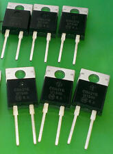 3 pièces électroluminescentes mur1540g 15a 400v 60ns ultra fast recovery rectifiers (m1633)