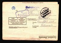 Germany 1944 POW Letter Cover / Stalag XIB / Light Crease - Z14306