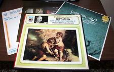LP  COFANETTO EMI  FURTWANGLER BEETHOVEN SINFONIA 9 CORALE + 3 LP OMAGGIO