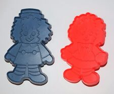 Bobbs Merrill Co. Raggedy ANN and ANDY cookie cutters