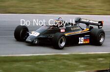 Emilio De Villota LBT equipo marzo de 821 F1 temporada 1982 fotografía