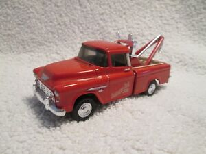Ertl 1956 Chevy cameo pickup tow truck deutmeyer  1:43 O Scale VHTF rare  dieast