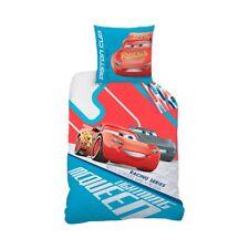 DISNEY CARS Linge de lit Castor 80 x 80 cm + 135 x 200 cm flanelle