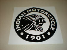 "Indian Motorcycle, Large Round Logo, Vinyl Decal Sticker - 24"" Diameter"
