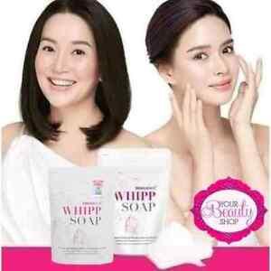 Original Snail White Whipp Soap by NAMULIFE 100g