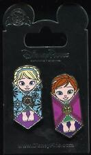 Frozen Anna and Elsa Swaddled in Baby Blanket 2 Pin Set Disney Pin 114325