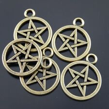 Brass Spiral Charms For Craft Beading Making Jewelry Findings Component CH685