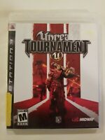Unreal Tournament III Sony PlayStation 3 PS3 Video Game Complete FREE S/H