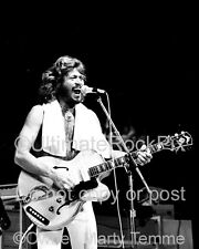 BARRY GIBB PHOTO THE BEE GEES 1979 Concert Photo by Marty Temme 1A Guild Guitar