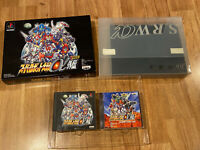 Super Robot Taisen Wars Alpha A Gaiden Japan Limited Edition PS1 PlayStation 1