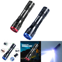 300LM 3Modes Portable XPE LED Flashlight Waterproof Outdoor Torch Zoomable Light