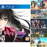 Tales of Berseria For PlayStation 4 Brand New Ps4 Games Factory Sealed