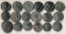 ^^AUTHENTIC^^ 18 ANCIENT GREEK COINS (SEE PICTURES) YOU IDENTIFY > NO RESERVE