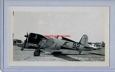 1946 VOUGHT FG-1 CORSAIR COOK CLELAND THOMPSON AIR RACE ORIGINAL PHOTO 92 RARE