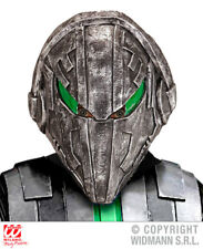 Space Invader Mask Sci Fi Robot Alien Ufo Halloween Fancy Dress Accessory