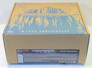 Hasbro Transformers: Prime Hades Megatron Exclusive Animated Series Japan