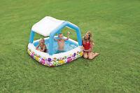 Intex Babypool Planschbecken Pool Kinderpool Baby Schwimmbad mit Dach 57470 Neu