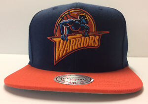 Golden State Warriors Mitchell & Ness Snapback Hat RARE LIMITED Cap Curry Rookie