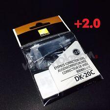 Nikon DK-20C Diopter-Adjustment +2 Eyepiece Correction Lens for D7000 D5000 FE10