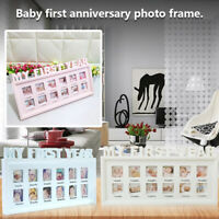 My First Year Photo Moments Baby Keepsake Frame First Mothers Gift Souvenirs US