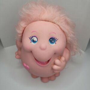 1984 Playskool SNUGGLEBUMMS Troll Night Light Pink W/ Pink Hair -Untested- As Is