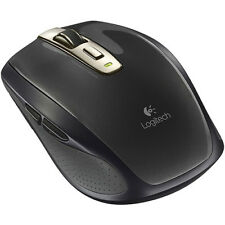 Logitech 910-002896 Anywhere Mouse MX Wireless Laser Mouse - Black