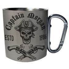 captain Pirate Skull  Carabiner 11oz Mug w520c