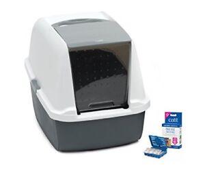 Catit Magic Blue Cat Litter box- Regular and Jumbo sizes