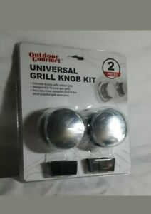 Outdoor Gourmet Universal Grill Knob Kit w/ rubber grips and 3 adapters gas gril