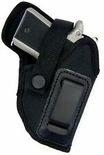 Right Hand OWB or IWB AIWB Holster w/ Comfort Tab for SMALL AUTOS - Choose Gun