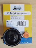 ESU 50323 XL Lautsprecher m.Schallkapsel 40mm rund, 15mm dick 8 Ohm NEU