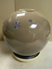 """Vintage Porcelain Art Deco Globe Vase 7.5"""" x 6"""" Excellent Condition"""