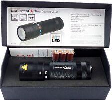 Ledlenser LED Taschenlampe T2QC Geschenk BOX mit Schlaufe und Batterien