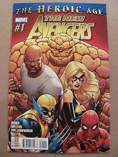 New Avengers #1 Marvel Comics 2010 Series Bendis 9.6 Near Mint+