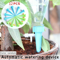 12pcs Automatic Irrigation Device Drip Water Spikes Flower Plant Watering Tools