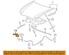 Buick GM OEM 08-09 LaCrosse Hood-Lock Latch 15916728