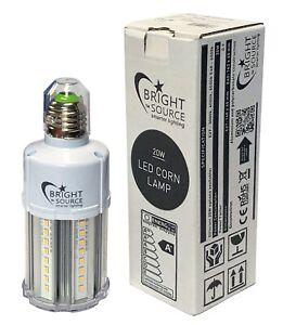 LED Corn Light 20w - Replaces 70w Metal Halide / SON ES / E27 4000k Cool White