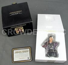 "Star Wars Zam Wesell Collectible 5-1/2"" Bust Gentle Giant Dark Horse 2002 NiB"