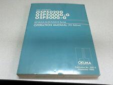 Okuma CNC Systems OSP5020G-OSP5000G-G OSP500G-G Operation Manual 4th