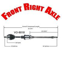 Front Right Side Cv Shaft Axle for Volvo C70 S70 V70 1999-2000 Check Fitment!!!