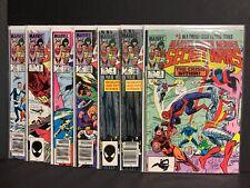 lot of 7 - mid grade -1984 Marvel Super Heroes Secret Wars #3,4,4,6,7,9,11