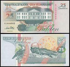 Suriname 25 Gulden, 1996, P-138c, UNC
