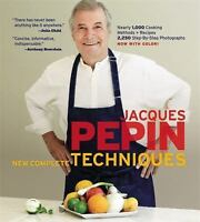 Jacques Pepin's New Complete Techniques (Hardback or Cased Book)