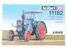 Kibri 11182 Lanz Bulldog Traktor Bausatz Landwirtschaft MIB OVP 1608-11-58